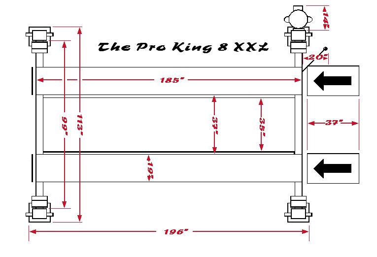 Pro-King-8-XXL-foot-print