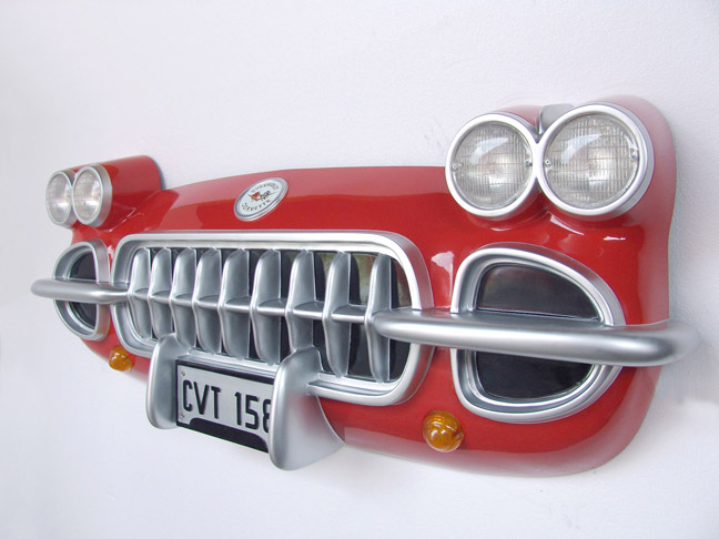 1958 CORVETTE WALL DECOR (FULL SIZE) $1495