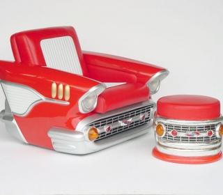 1957 CHEV CAR CHAIR $1995