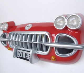 1958 CORVETTE WALL DECOR (FULL SIZE) $1495