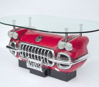 1958 CORVETTE COFFEE TABLE $999