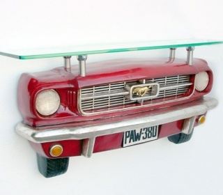 1965 MUSTANG TROPHY SHELF $699
