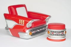 1957 CHEV CAR CHAIR $1995