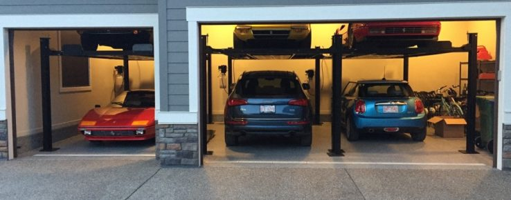Are Car Lifts Really That Great for Storage? - Lift King - Automotive Lifts Calgary - Featured Image